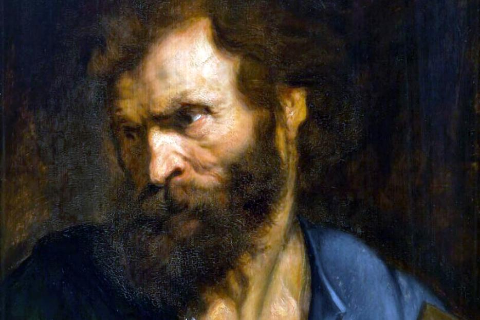 "Anthony van Dyck, ""The Apostle Judas Thaddeus,"" c. 1620"