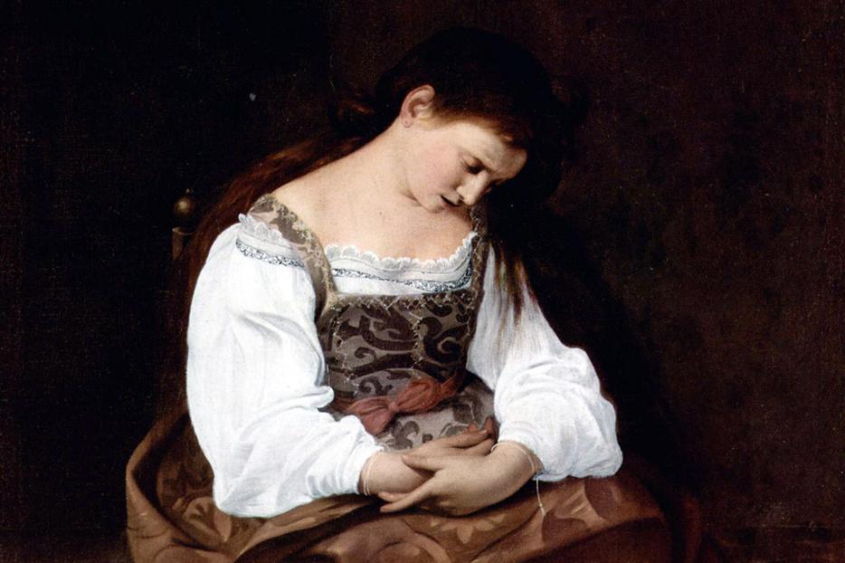 """Caravaggio [1571-1610], """"Maria Magdalena"""""""