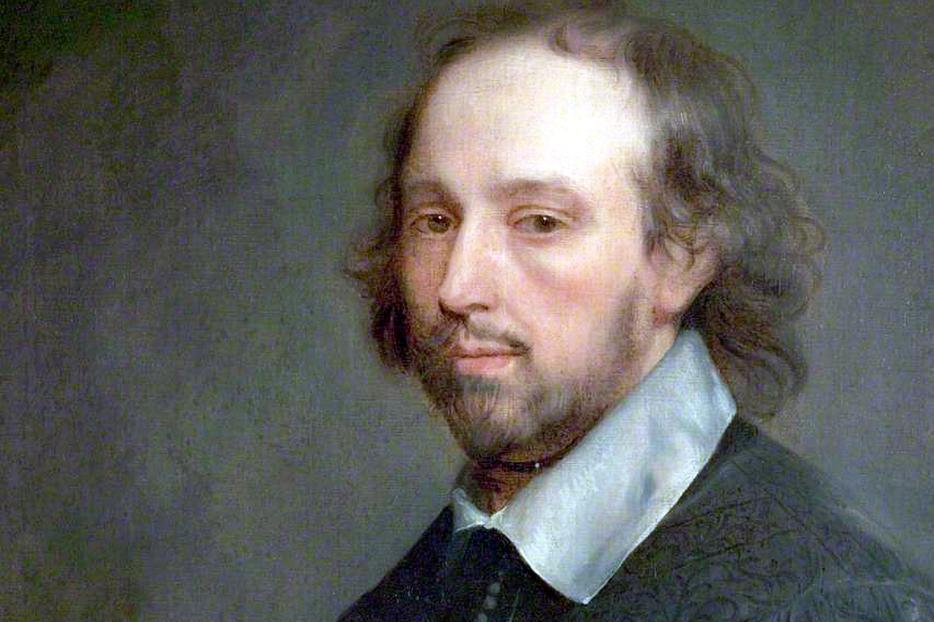 """Gerard Soest, """"Portrait of William Shakespeare,"""" c. 1667"""