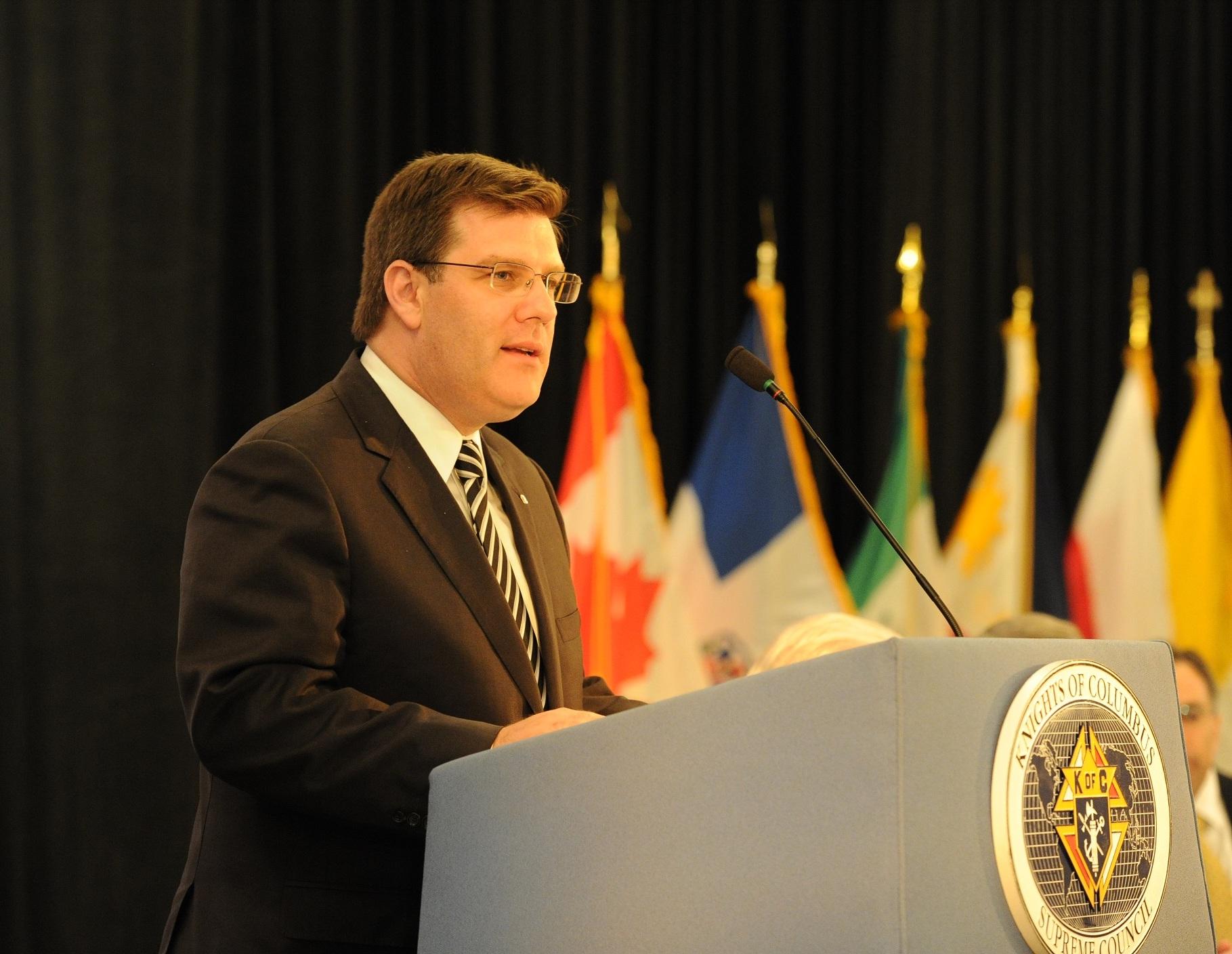 Knights of Columbus state deputies meeting in June 2011.