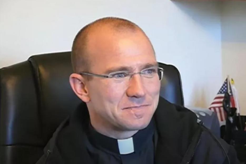 Father Jeremy Leatherby.
