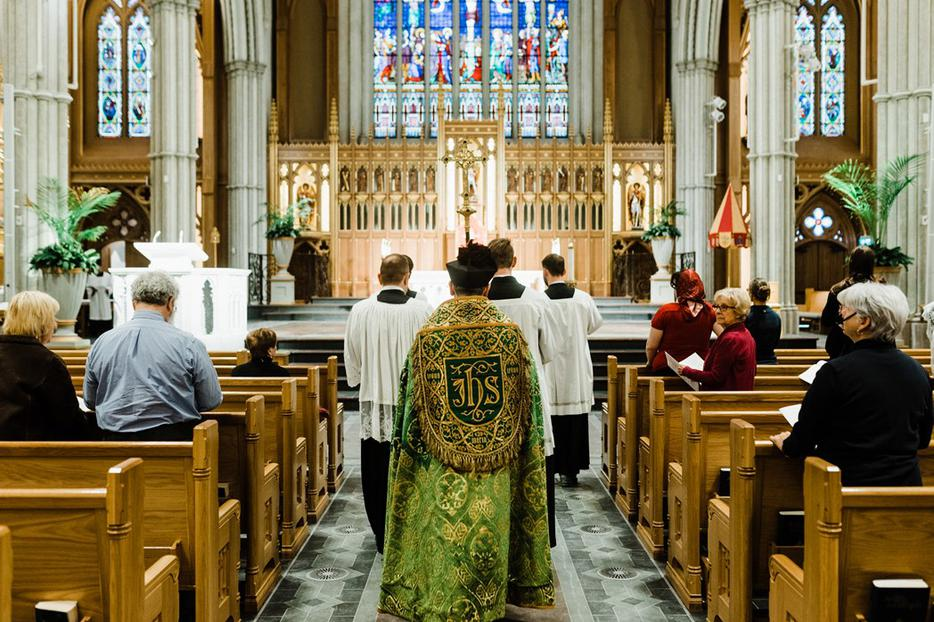 A processional for Choral Matins at the Nov. 2019 Conference on the Anglican Tradition in the Catholic Church.