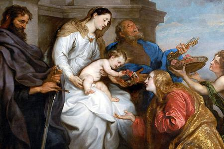 St. Rosalia of Palermo, Patroness of Pandemics