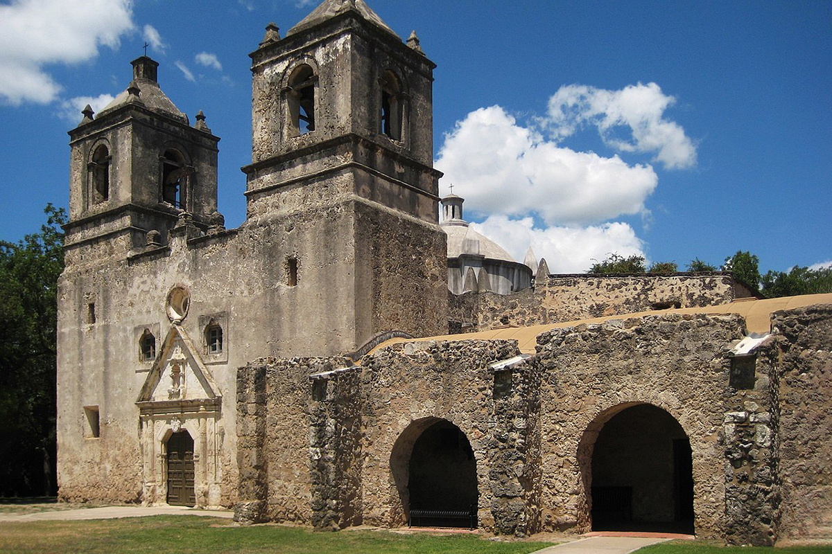 Mission Concepción in Texas