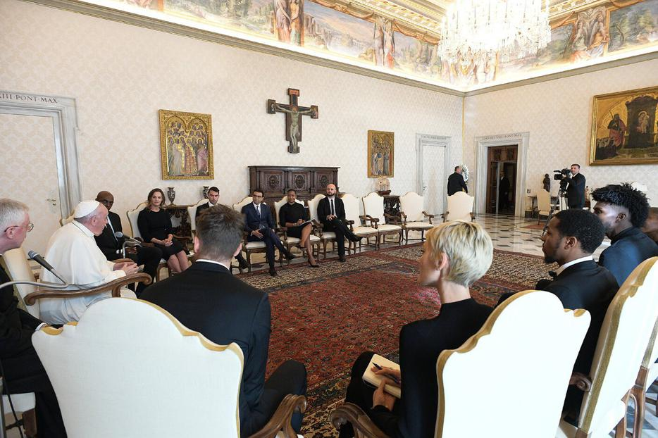 NBPA delegation meets with Pope Francis to discuss social justice issues