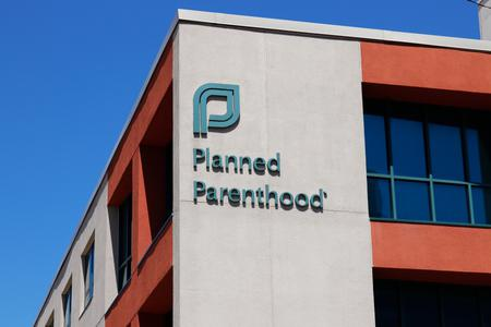 Planned Parenthood facility in Dayton, Ohio.