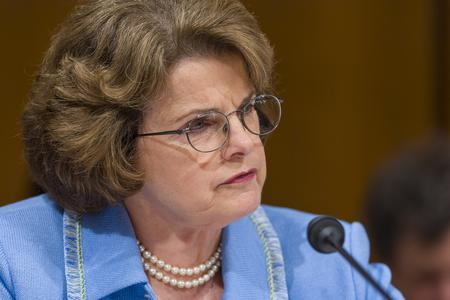 Senator Dianne Feinstein (D-CA) during confirmation hearing, U. S. Supreme Court nominee Judge John Roberts.