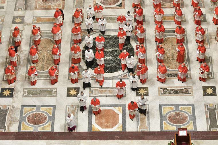 Pope Elevates 13 New Cardinals