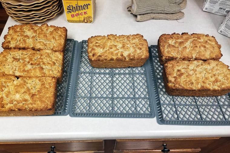 Father Scott Janysek's beer bread