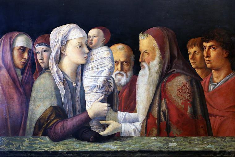 "Giovanni Bellini, ""The Presentation of Jesus Christ in the Temple,"" c. 1469"