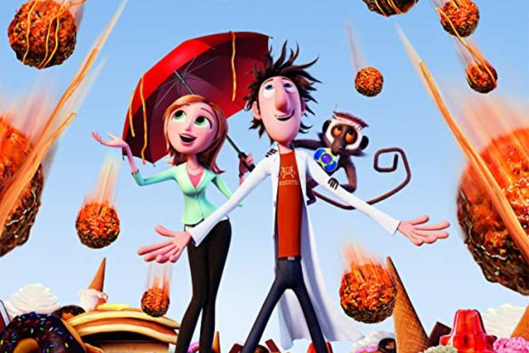 'Witty' animated movie 'Cloudy With a Chance of Meatballs' gets a thumbs-up.