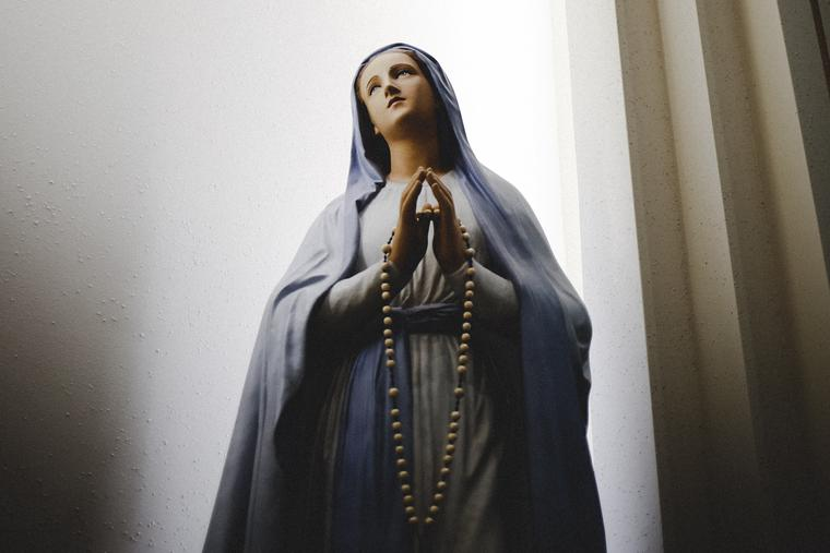The Church honors Mary each Dec. 8.