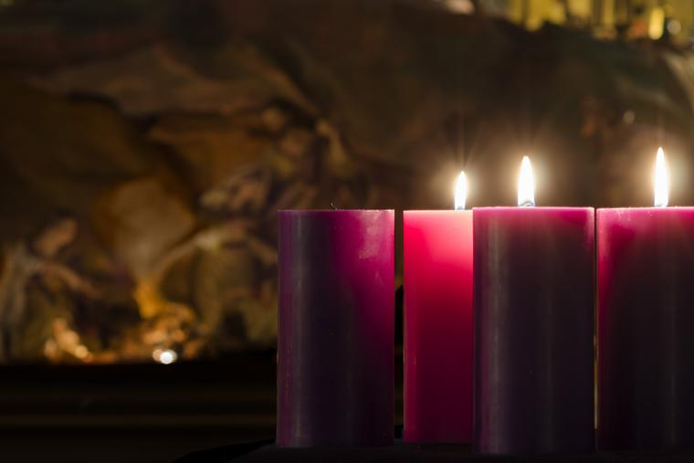 We rejoice on the Third Sunday of Advent.