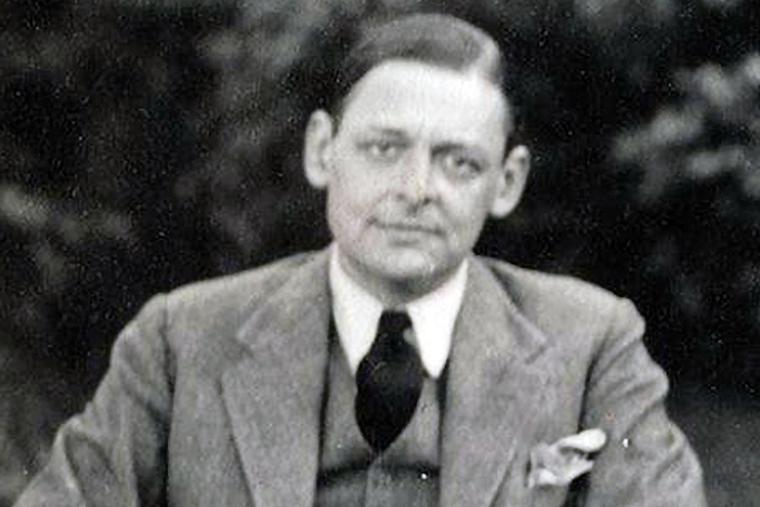 T.S. Eliot in 1934