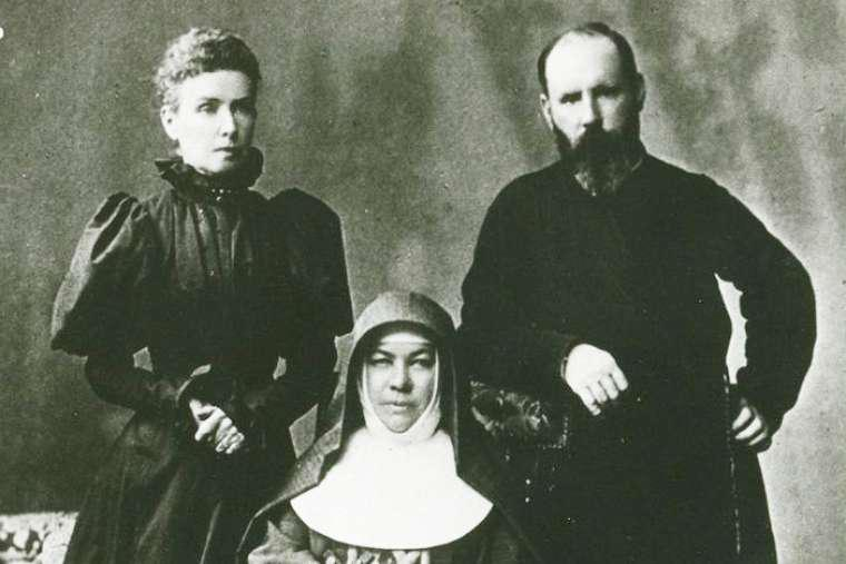 Photograph of Saint Mary MacKillop in 1890.