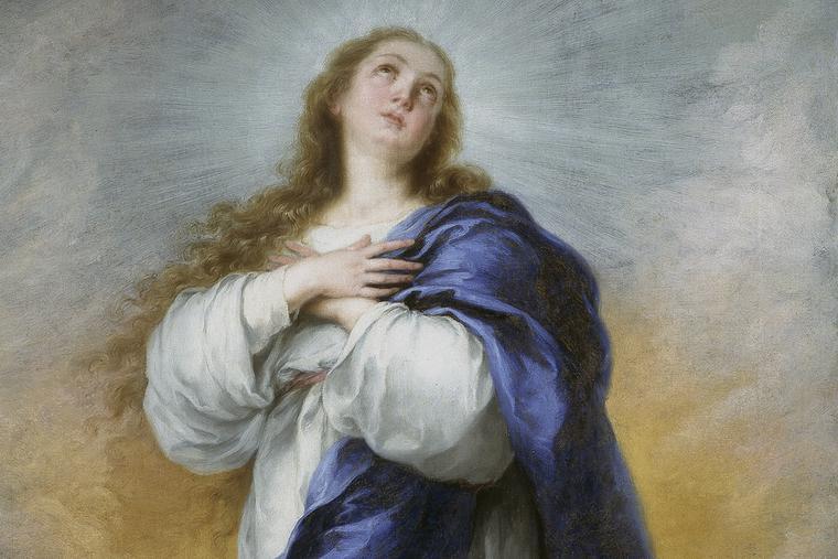 """Bartolomé Esteban Murillo, """"La Inmaculada Concepción de Aranjuez,"""" c. 1675"""