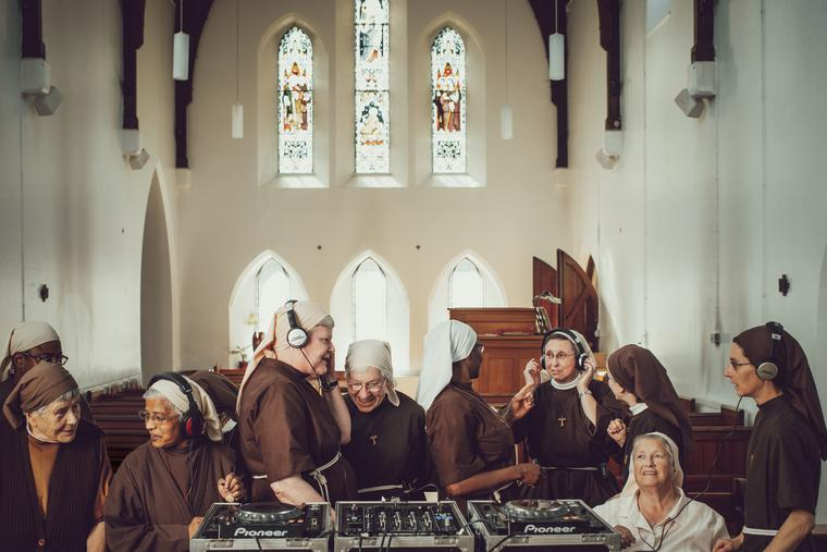 Listeners can hear the Poor Clares from Sussex, England, sing on a chart-topping album.