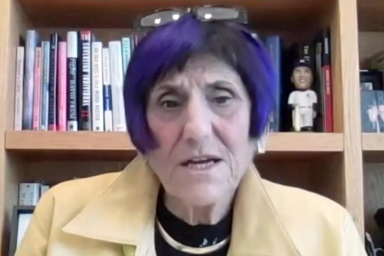 Rep. Rosa DeLauro, D-Conn., leads a virtual meeting Tuesday of the House Subcommittee on the Departments of Labor, Health and Human Services, Education, and Related Agencies.