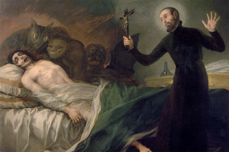 St. Francis Borgia Helping a Dying Impenitent