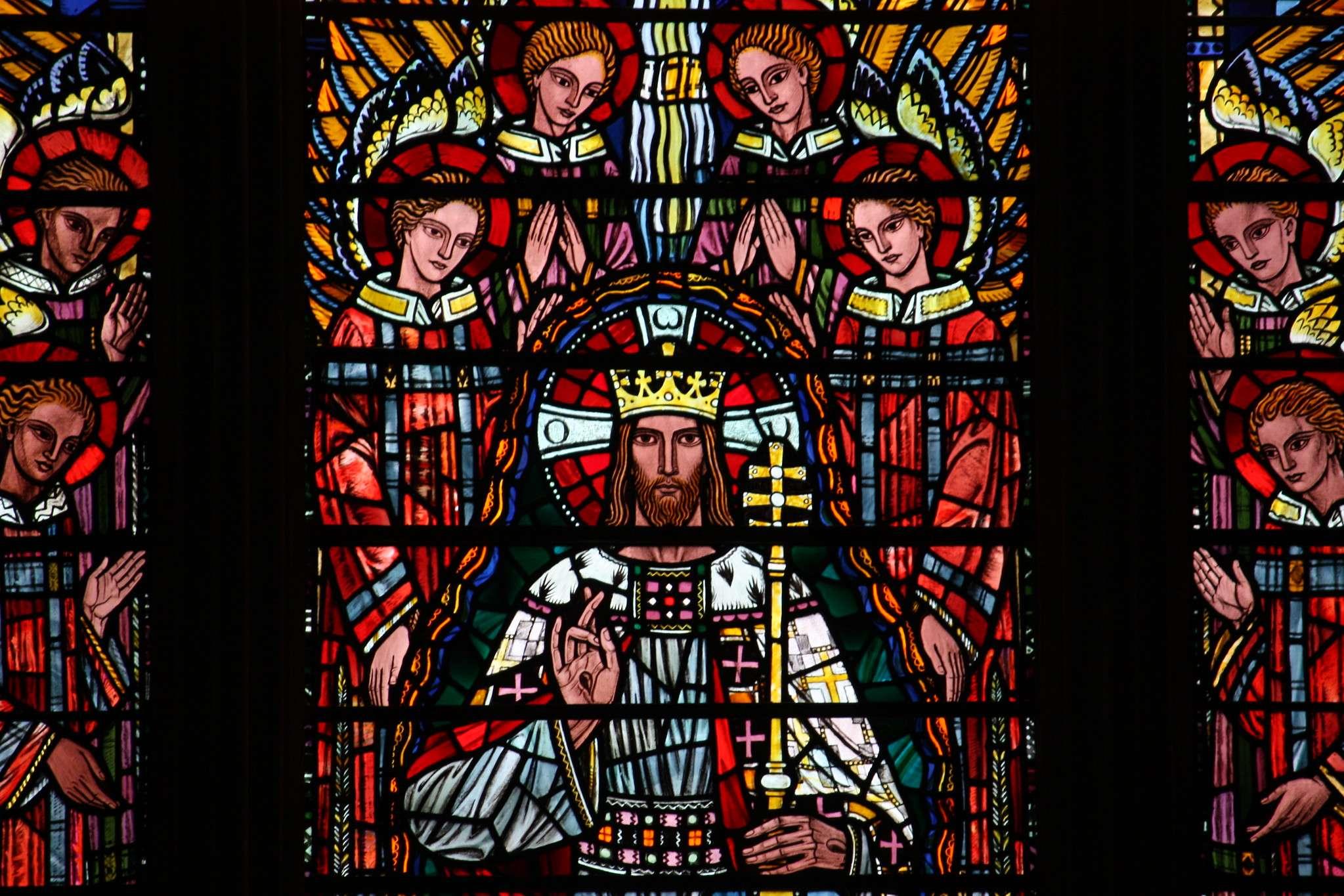 Christ the King at St Etheldreda's, London.