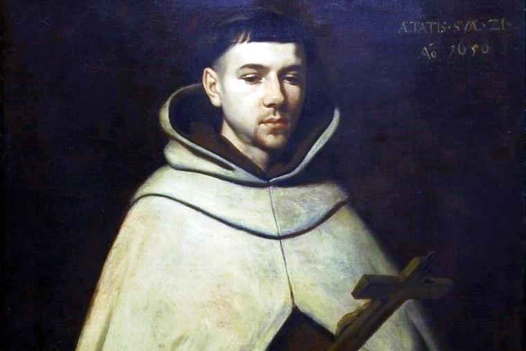 "Francisco de Zurbarán, ""St. John of the Cross,"" 1656"