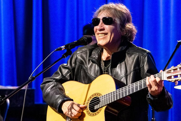 José Feliciano performs at the Grammy Museum on Feb. 11, 2020 in Los Angeles, California. (Photo by Timothy Norris/Getty Images)