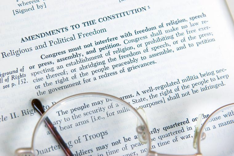 The First Amendment enshrines religious freedom in the Constitution.