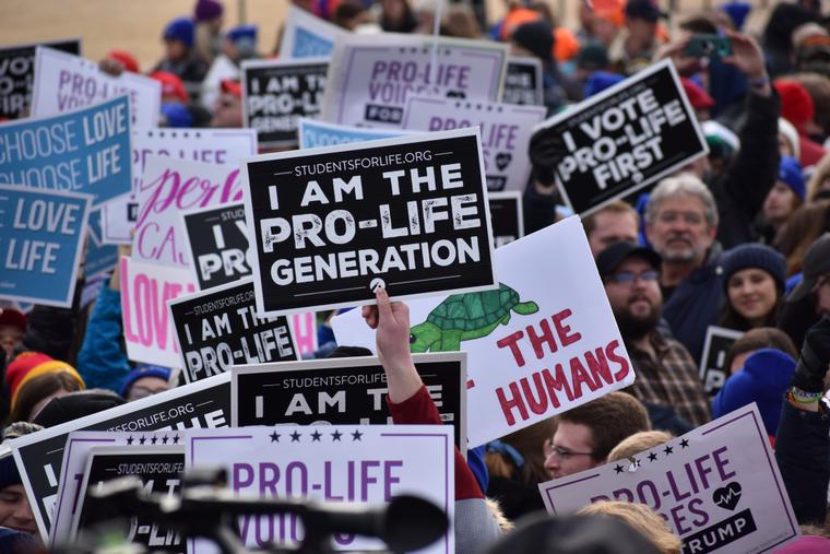 The 2020 March for Life in Washington, DC.