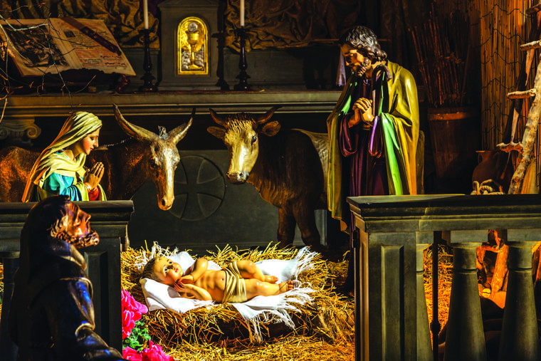 The birth of Christ is historical reality that finds its full meaning lived in faith.