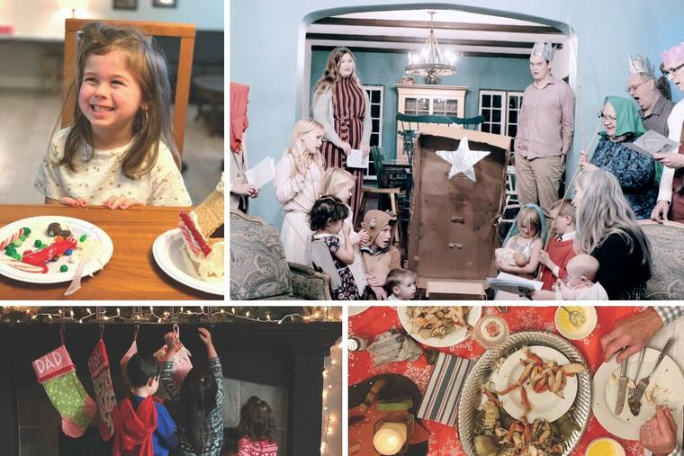 On Christmas Day the Tierneys don costumes and commemorate the birth of Christ as a family, while little ones participate in the festive traditions of the Warner and Harrell families.