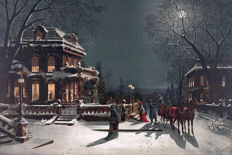 """J. Hoover, """"Christmas Eve"""""""