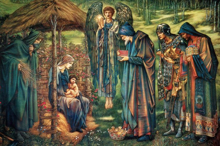 "Edward Burne-Jones, ""The Star of Bethlehem,"" 1890"