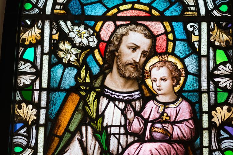 St. Joseph is a blessed guide to Christian life.