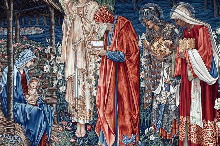"Edward Burne-Jones, ""The Adoration of the Magi"" (detail), 1904"