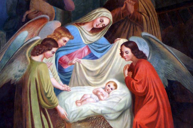 "Anton Marte, ""Nativity,"" 1908"