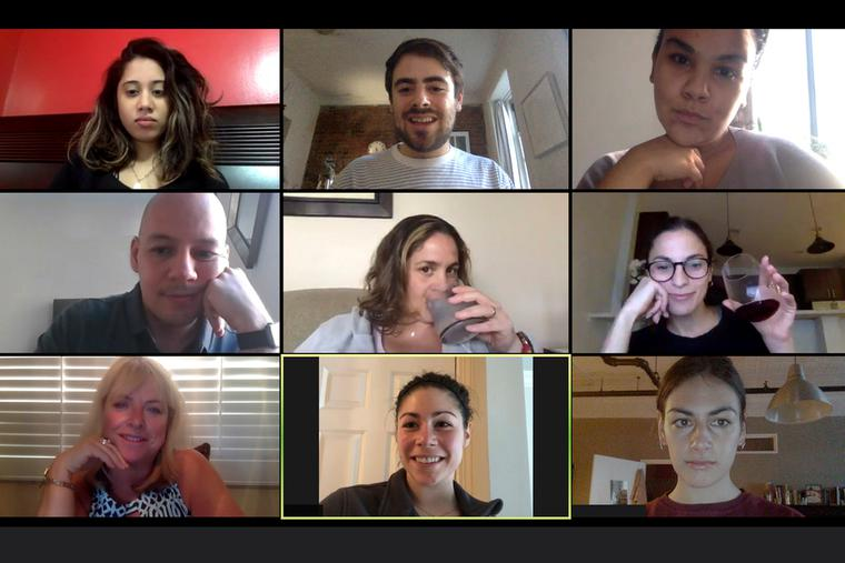 Virtual events took the place of in-person get togethers during the coronavirus pandemic.