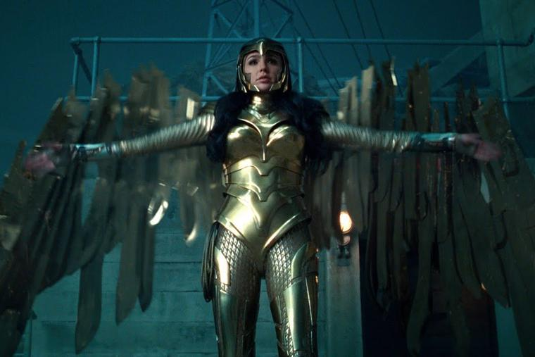 International trailer for 'Wonder Woman 1984'.