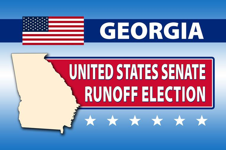 Residents begin voting in Georgia for the runoff elections that will decide two U.S. Senate seats.
