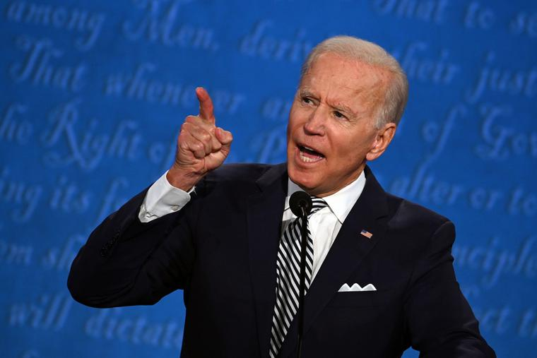 President-elect Joe Biden in Cleveland, Ohio.