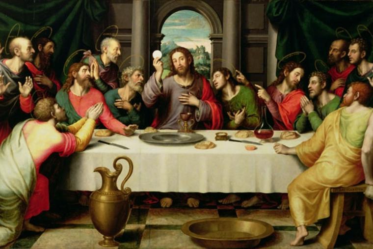 "Vicente Juan Macip, ""The Last Supper"""