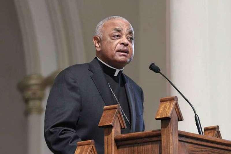 Now-Cardinal Wilton Gregory of Washington.