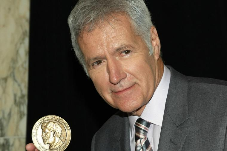 Alex Trebek attends the 71st Annual Peabody Awards in Los Angeles, May 21, 2012.