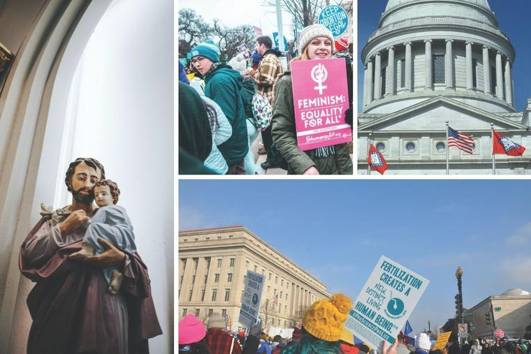 The annual Washington March for Life goes on, as Arkansas (upper far right) tops the 'Life List 2021' and St. Joseph serves as a patron for the new year.