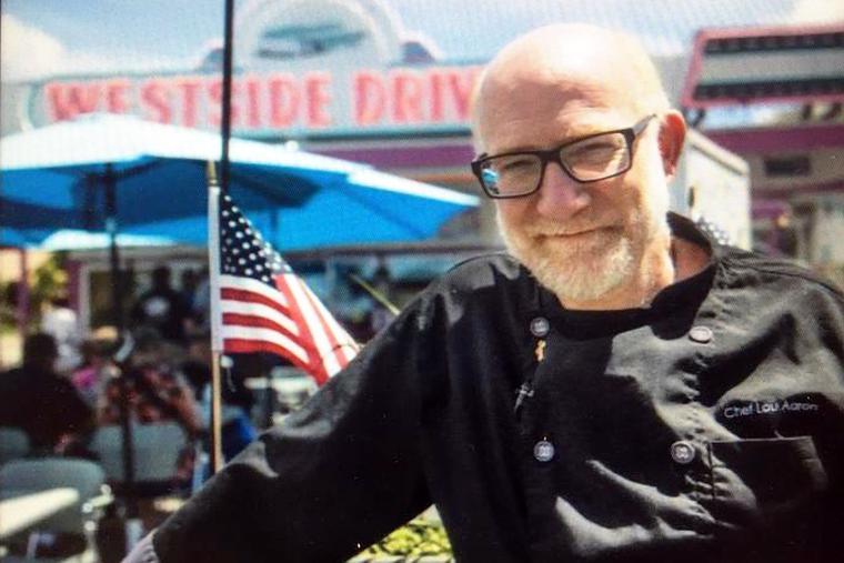 Deacon Lou Aaron at his Westside Drive-In in Boise, Idaho