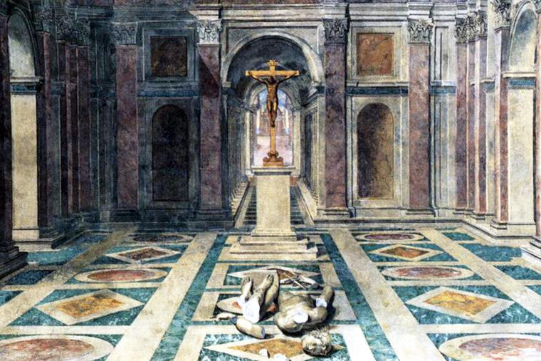 "Tommaso Laureti, ""The Triumph of Christianity,"" 1582"