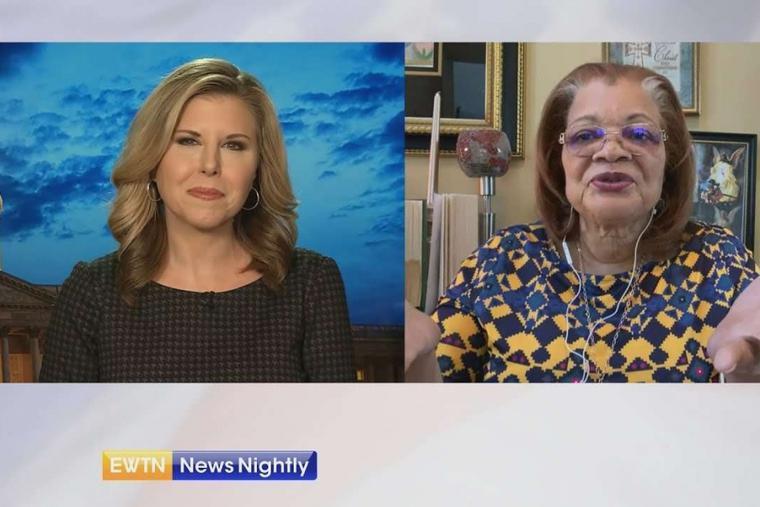 Tracy Sabol and Alveda King on EWTN News Nightly