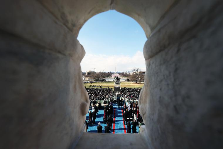 Joe Biden is sworn in as president during his inauguration Wednesday on the West Front of the U.S. Capitol in Washington, D.C.