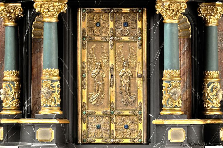 Tabernacle in the Paderborn Cathedral
