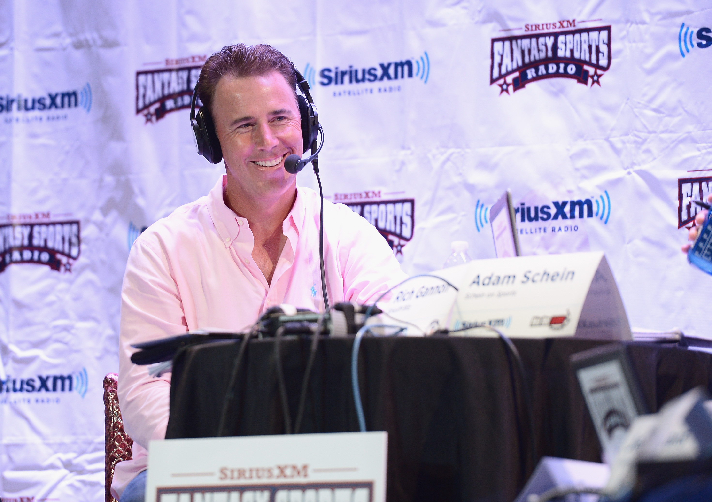Former Professional Football player Rich Gannon attends the SiriusXM Celebrity Fantasy Football Draft at Hard Rock Cafe - Times Square on July 17, 2013 in New York City. (Photo by Michael Loccisano/Getty Imagesfor SiriusXM)