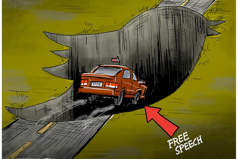 Swallowing Up Free Speech